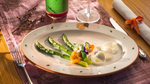 Gutshofrestaurant Prandtauerhof Grünspargel Rezept