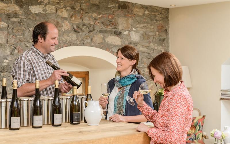 Weinverkostung Weingut Holzapfel